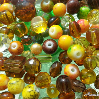 Mixed beads - Brown Tones