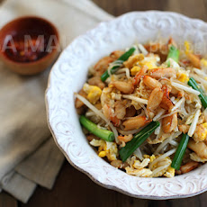Crab Noodles Recipe (Fried Mung Bean Noodles with Crab)