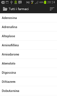 Farmaci D'Urgenza screenshot for Android