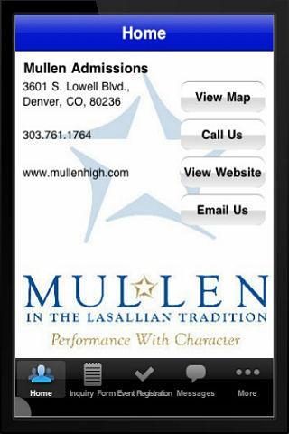 Mullen Admissions