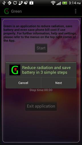 Battery Radiation Saver