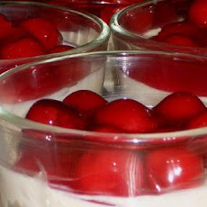 Low-Carb No-Bake Cherry Cheesecake