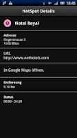 Screenshot of HotSpot Login