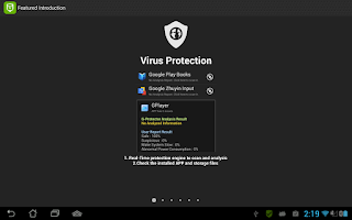 Screenshot of G-Protector Anti Virus Utility