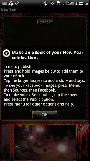 New Year's Instebook