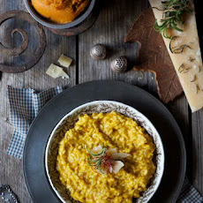 Autumn Pumpkin Risotto with Saffron
