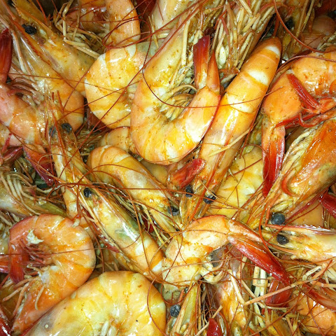 Beer Boiled Shrimp