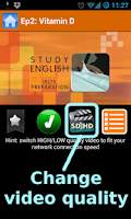 Screenshot of IELTS Prepare Learning English