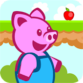 Download Piggy World - platformer game APK to PC