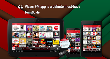 Screenshot of Player FM Podcast App