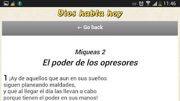 Screenshot of Dios Habla Hoy