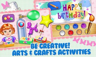 Screenshot of Baby Birthday Party Planner
