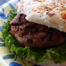 Mango Chutney and Havarti Turkey Burgers