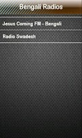 Screenshot of Bengali Radio Bengali Radios