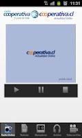 Screenshot of Radio Cooperativa