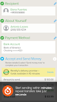 Screenshot of Send Money with Remitly