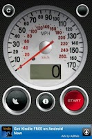 Screenshot of GPS Speed Free