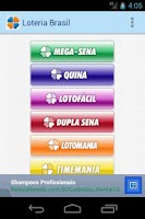 Screenshot of Loteria do Brasil