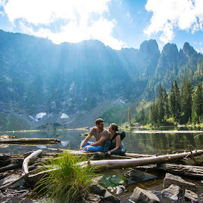 Anywhere with you by Andrew Hale - People Couples ( mountains, lake, couples )