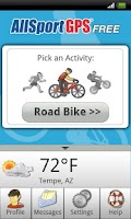 Screenshot of AllSport GPS FREE