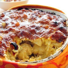 Smoky Four Cheese Macaroni Bake