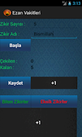 Screenshot of Ezan Vakitleri