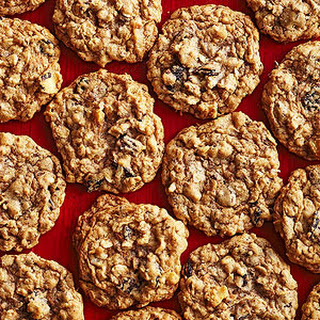 Coconut, Cherry, and Chocolate Oatmeal Cookies