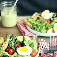 Asparagus Salad with Tarragon Vinaigrette