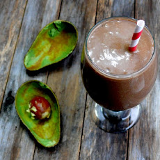 Minty Chocolate Avocado Shake