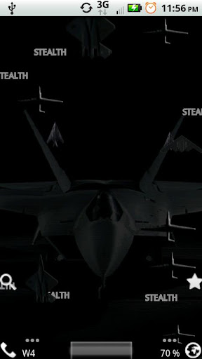 Stealth Live Wallpaper