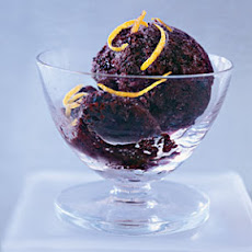Blueberry-Lemon Sorbet