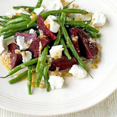 Beetroot, Green Bean & Goat's Cheese Salad