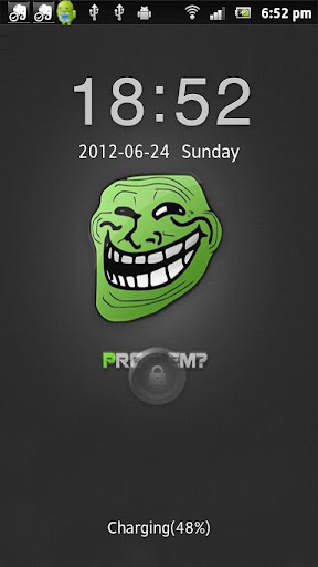 Green Troll Go Locker Theme