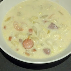 Mixed Seafood Corn Chowder