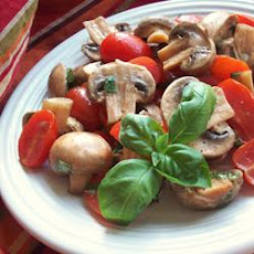 Byrdhouse Marinated Tomatoes and Mushrooms