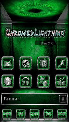 Chromed Lightning Multi Green