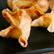 Crab Rangoons (Crab Puffs) With Sweet and Sour Sauce
