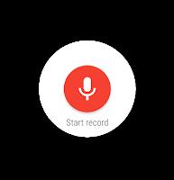 Screenshot of Wear Audio Recorder