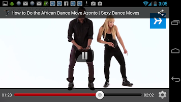 Screenshot of Dance Better