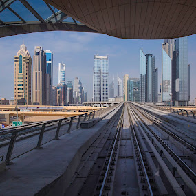 Framed City by Andy Arciga (www.arcigaandy.com) - Buildings & Architecture Office Buildings & Hotels ( canon 6d, canon 24-60 f2.8l ii, dubai, cityscape, landscape,  )