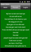 Screenshot of Sing For Wales | Welsh Anthem