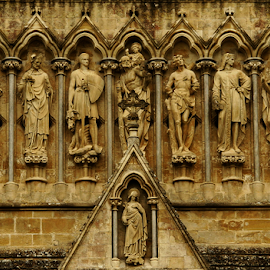 Salisbury Cathedral by Peter Keast - Buildings & Architecture Places of Worship ( salisbury, sculpture, church, cathedral )