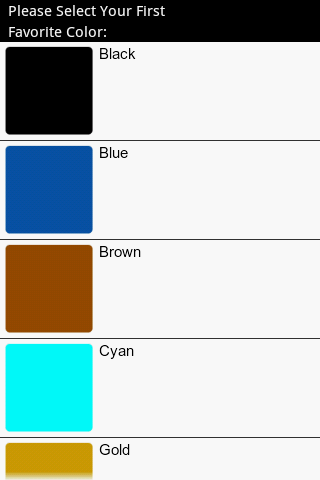 Favorite Color Personality Tes