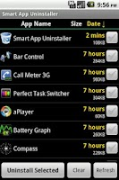 Screenshot of Smart App Uninstaller