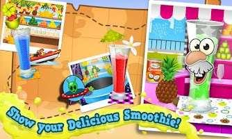 Screenshot of Smoothie Maker Crazy Chef Game