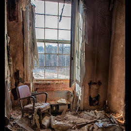 Window Seat by Deborah Felmey - Buildings & Architecture Decaying & Abandoned ( ruins, architecture, rust, decay, abandoned,  )
