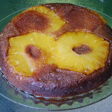 Pineapple and Cardamom Upside-Down Cake