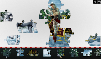 Screenshot of Live Jigsaws - Christmas Magic