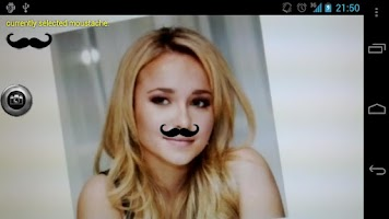Screenshot of Instant Moustache