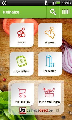 delhaize for android screenshot